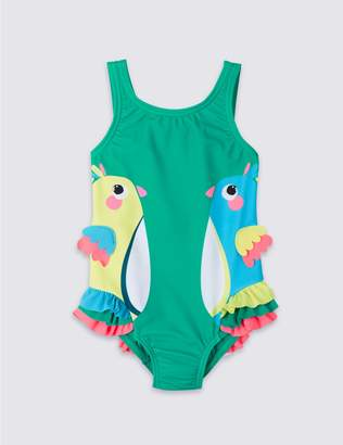 Marks and Spencer Swimsuit with Sun Safe UPF50+ (3 Months - 7 Years)