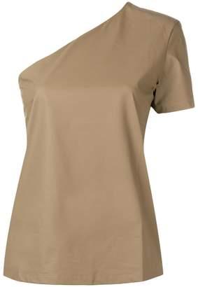 Max Mara asymmetric T-shirt