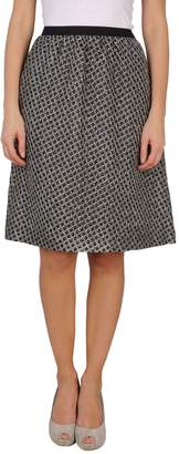 Hache Knee length skirts
