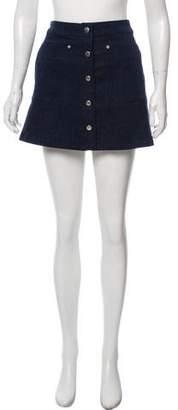 Rag & Bone A-Line Mini Dress