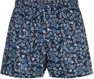 Sunspel Floral Print Boxer Shorts