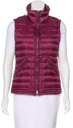 Burberry Zip-Up Puffer Vest