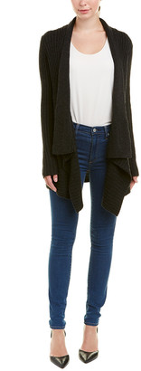 Autumn Cashmere Cable-Knit Wool & Cashmere-Blend Cardigan