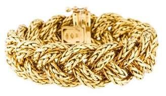 18K Woven Link Bracelet