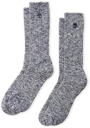 Timberland 2-Pack Outdoor Leisure Crew Socks