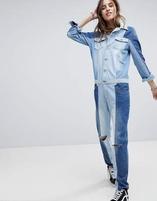 Signature 8 Denim Boiler Suit