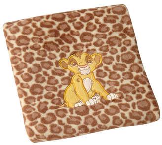 Disney Lion King Leopard Print Baby Blanket Bedding