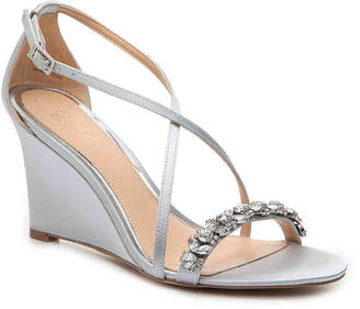 Badgley Mischka Little Wedge Sandal - Women's