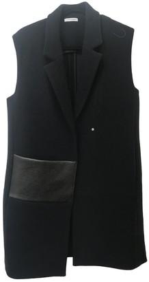 Nicole Farhi Blue Wool Coat for Women