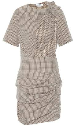 Etoile Isabel Marant Isabel Marant, Étoile Oria draped checked cotton dress