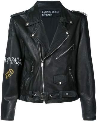 Enfants Riches Deprimes biker jacket