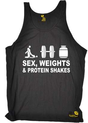Sex Weights and Protein Shakes Premium SWPS Premium - Sex Weights & Protein Shakes ... D3 (M - ) VEST TOP