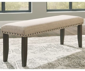 Gracie Oaks Chapdelaine Upholstered Bench Gracie Oaks