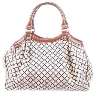 ed4b8461c1a Pre-Owned at TheRealReal · Gucci Medium Diamante Sukey Bag