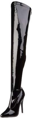 Devious Dom3000/B, Women Warm Lining Ankle Boots,5 UK ( EU)