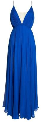 Jill Stuart Pleated Empire Waist Gown