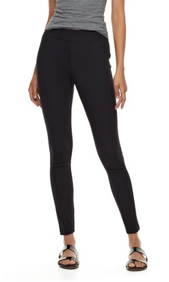 Utopia By Hue Utopia by HUE Blackout Seamed Leggings