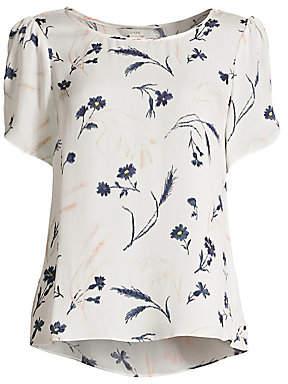 b8598e0ebdb78a Joie Women s Wira Silk Floral Print Top