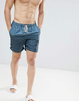 Selected Stripe Swim Shorts