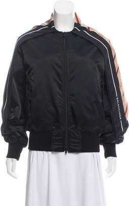 Balenciaga Draped Bomber Jacket w/ Tags