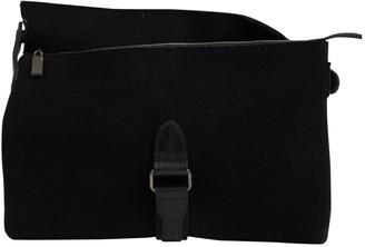 Issey Miyake Black Cloth Clutch Bag 297e3d944e311