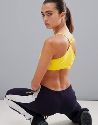 Calvin Klein Seamless Sports Bra in yellow
