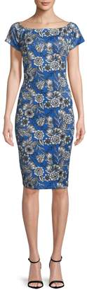 Alexia Admor Floral-Print Bodycon Dress