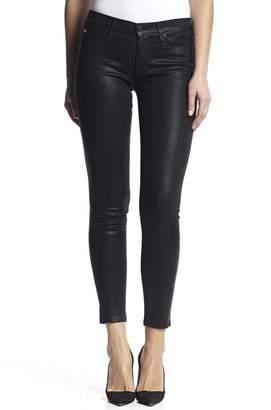 Hudson Jeans Nico Skinny Noir-Coated