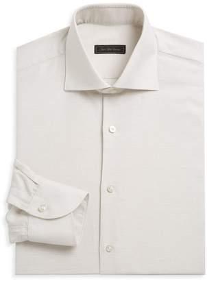 Saks Fifth Avenue Linen Blend Dress Shirt