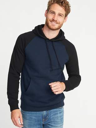Old Navy Color-Blocked Pullover Raglan Hoodie for Men
