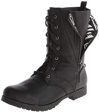 Qupid Women's Wyatte-19 Combat Boot
