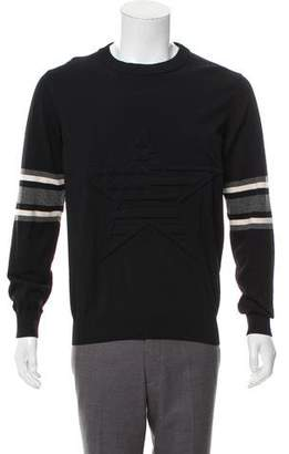 Givenchy Matelassé Crew Neck Sweater