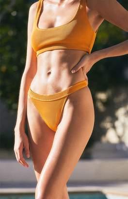 LA Hearts Peach Hipster Bikini Bottom