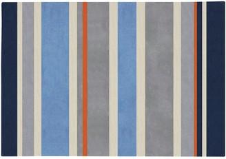 Blue Area Artisan Weaver Tilden Striped Rug