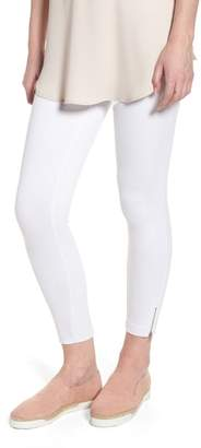 Lysse Mini Zip Crop Leggings