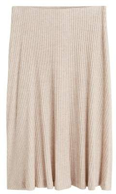 Violeta BY MANGO Cable knit skirt