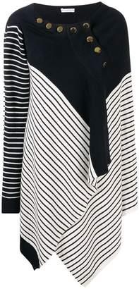 J.W.Anderson asymmetric striped jumper