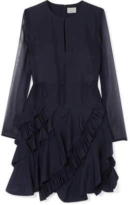 Jason Wu GREY Ruffled Silk-chiffon Dress