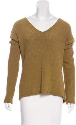 Rebecca Minkoff V-Neck Knit Sweater