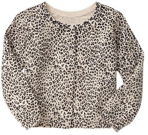 Gap Leopard cardigan