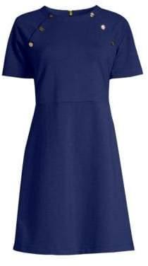 Draper James Women's Sailor Knit Dress - Navy - Size Large