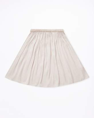 Jigsaw Girls Crocus Drape Midi Skirt