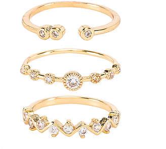 Ettika Ring Set of 3