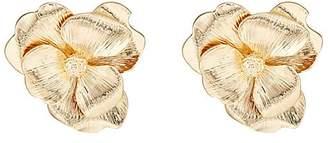 Kenneth Jay Lane WOMEN'S FLOWER STUD EARRINGS