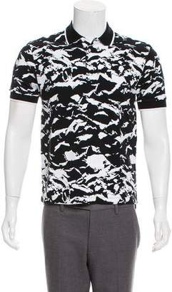 Markus Lupfer Printed Polo Shirt
