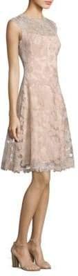 Tadashi Shoji Lace Sleeveless Dress