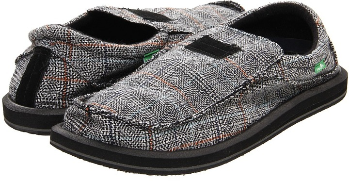 Sanuk Kyoto Dean (Black) - Footwear