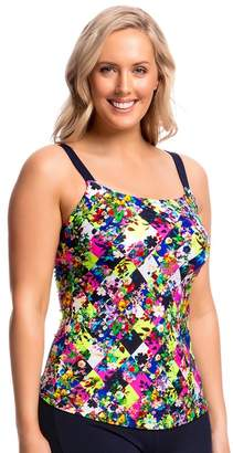Funkita Form Princess Cut Scoop Neck Tankini Separate