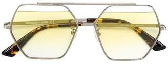 McQ Eyewear hexagonal frame sunglasses