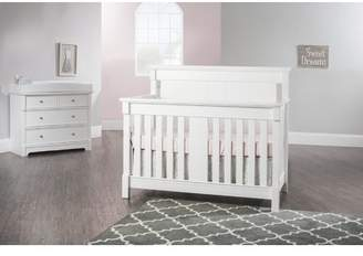 Child Craft Bradford 4-in-1 Convertible 4 Piece Crib Set